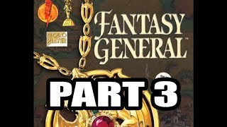 Fantasy General (Krell, Hard difficulty), 3rd Continent ( Part 1 )