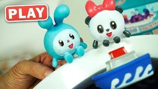 КУКУТИКИ PLAY - Распаковка - Малышарики Игрушки для Ванны для самых маленьких