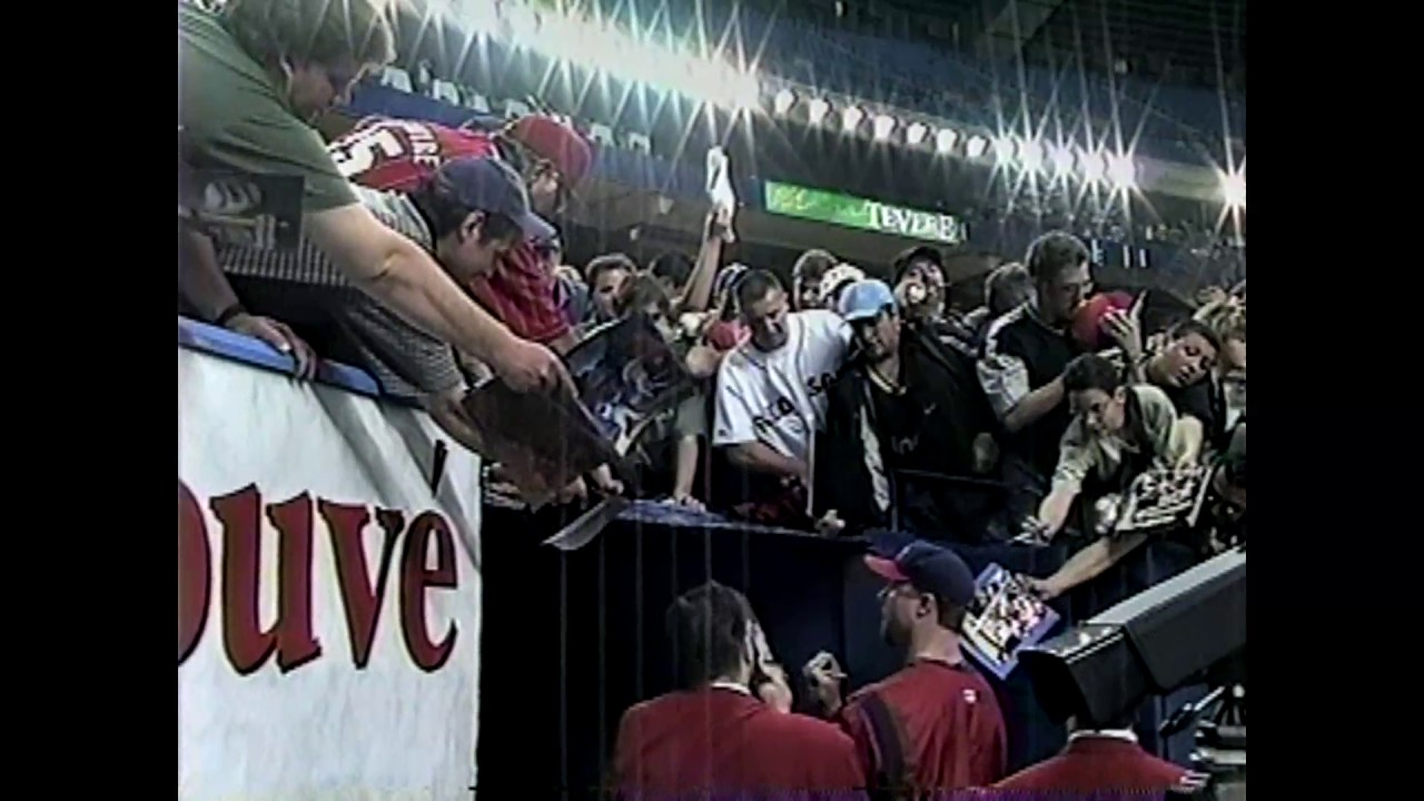 Expos - Cards Raw Footage  4-30-99