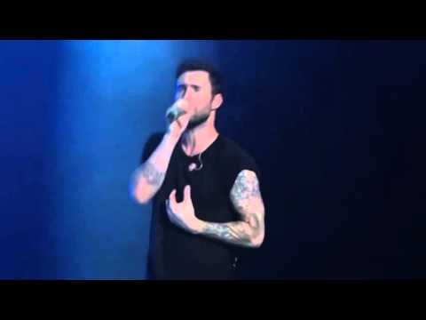 MAROON 5 SHE WILL BE LOVED Y 3 MASChile 2012