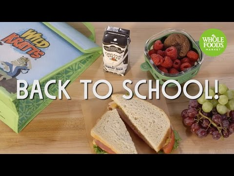 Lunchbox Inspiration | Back To School | Whole Foods Market