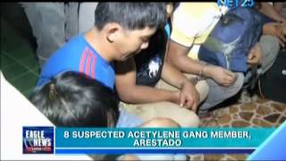 8 Suspected Members of Acetylene Gang, Arrested