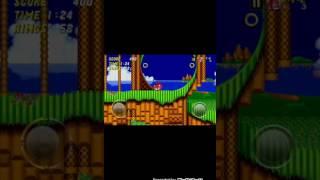 Прохождение sonic the hedgehog 2 (мое первое видео)