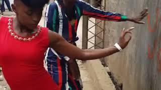 Eric Omondi dancing to Sautisol's song