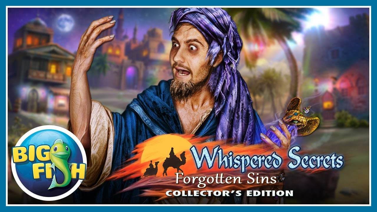 Whispered Secrets: Forgotten Sins Collector's Edition > iPad