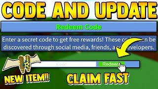 *HURRY* NEW CODE & UPDATE!! | Build a boat for Treasure ROBLOX