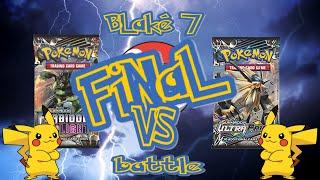 Pokémon Pack Battle FINAL - Forbidden Light v Ultra Prism **Blake 7 Videos**