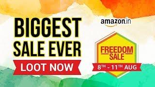Amazon Freedom Sale: Amazon Sale Is Back With Crazy Offers | Amazon Sale 2019