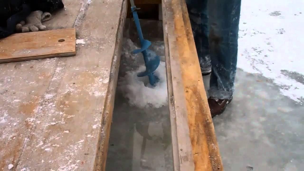 4x8 ice house plans