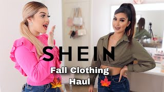 My Sister Rates My SHEIN Fall Outfits!! Try On Haul