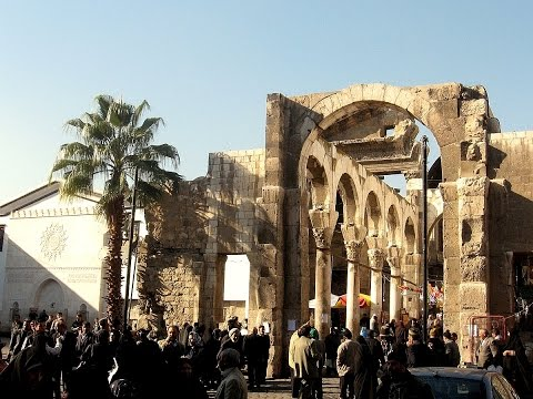 Damascus, architecture and monuments before the civil war st