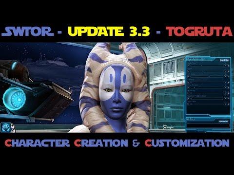 SWTOR - Togruta Character Creation & Customization