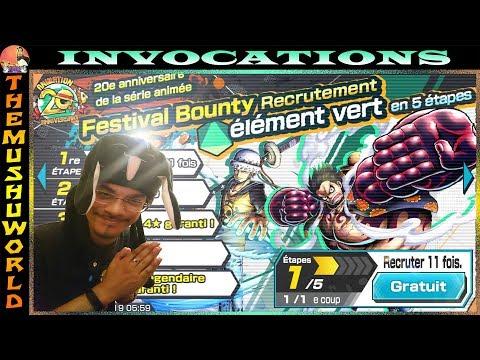Hihihi Invocations Festival Bounty Type Vert 200 Diams