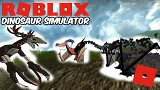 Roblox Dinosaur Simulator - The Dragons Of DS + New Wendigo Remodel!