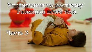 Шаолиньская гимнастика, разминка всего тела. Часть 3