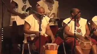 "Nana Korantema Ayeboafo and the African Ensemble, ""Drum Call to Convene: African Music Concert"""