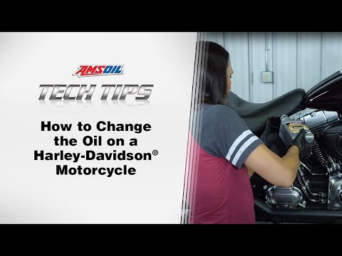 AMSOIL Tech Tips: Harley Davidson Oil Change