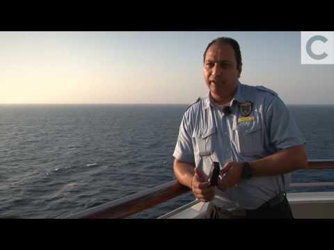 Costa Crociere Careers - Ships security guard Michael