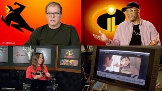 Incredibles 2 Vocal Booth & Interviews with Samuel L. Jackson, Sophia Bush, Bob Odenkirk & More