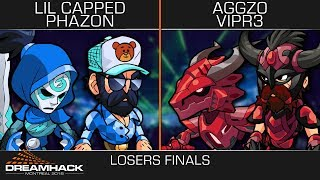 Lil Capped & Phazon vs Aggz0 & VipR3 - Losers Finals - DreamHack Montreal 2v2 Top 4