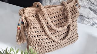 Örgü çanta sapı yapımı /anglez