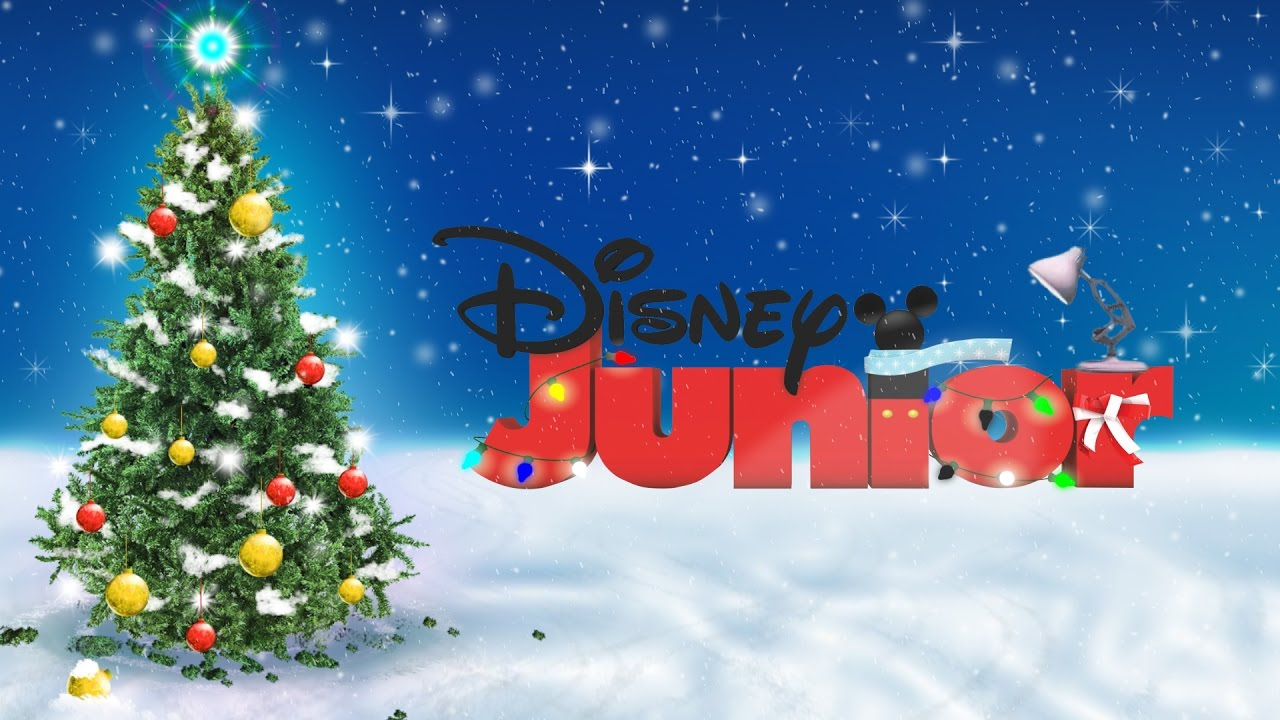 422 Disney Junior With Merry Christmas Spoof Pixar Lamp