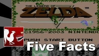 Five Facts - The Legend of Zelda | Rooster Teeth