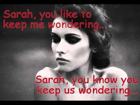 Ricky Hil - Sarah's Song (Lyrics)