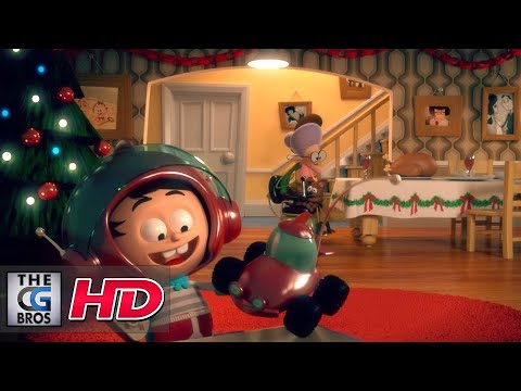 """CGI 3D Animated Short: """"Remote""""  - by The Garden Shed Films"""