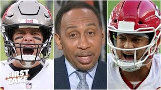 Brady or Mahomes? Stephen A. makes his Super Bowl LV prediction | First Take
