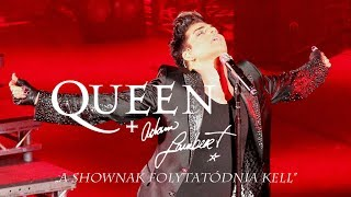 Queen + Adam Lambert - The Show Must Go On [magyar felirat]