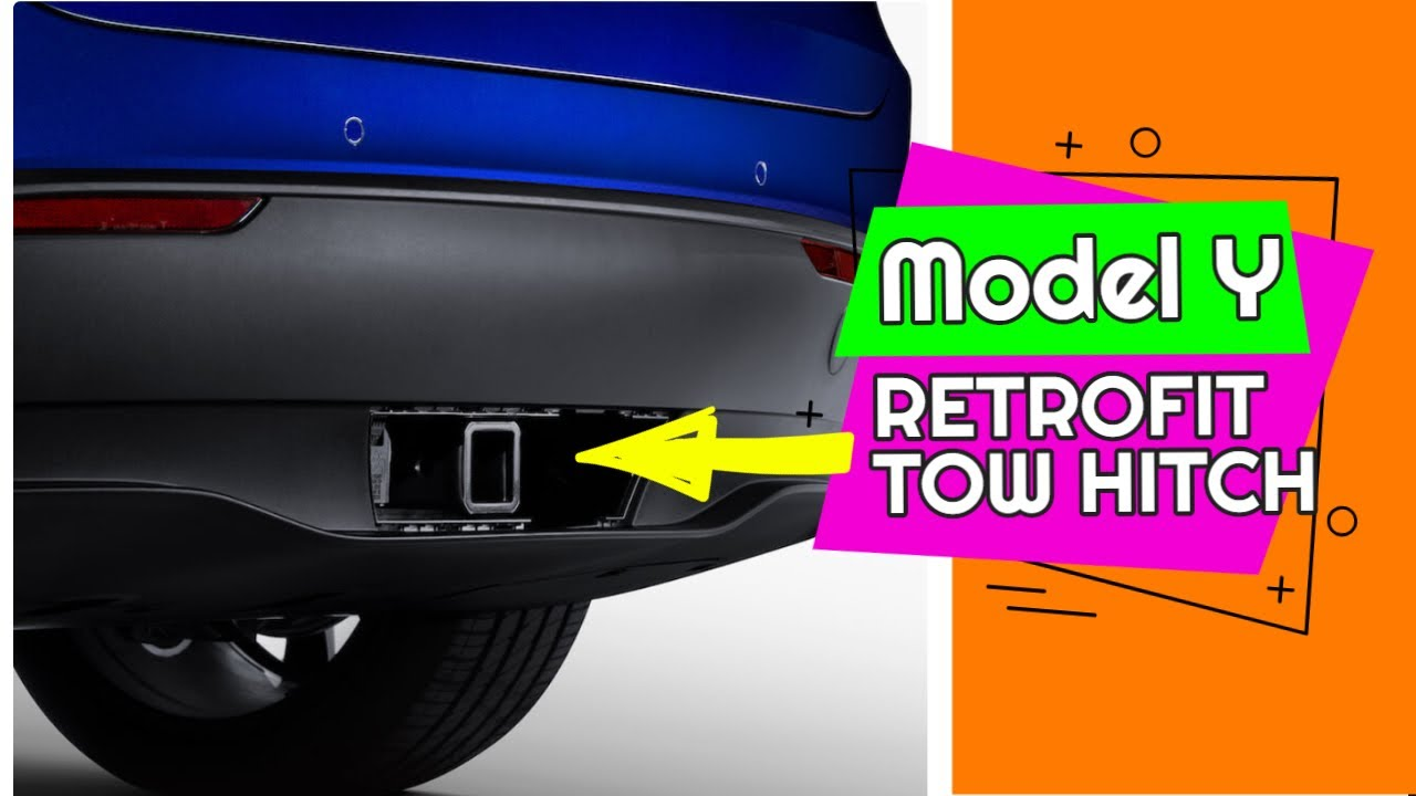 EARLY MODEL Y OWNERS RETROFIT a TOW HITCH from TESLA for $1200 - Tesla Model Y [Update]