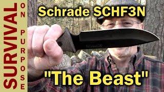 Schrade SCHF3N Survival Knife - OK, it fooled me.
