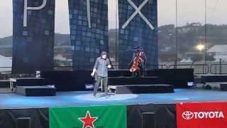 """Pentatonix- Avi Kaplan doing Overtune Singing and Kevin Olusola playing """"Renegade"""""""