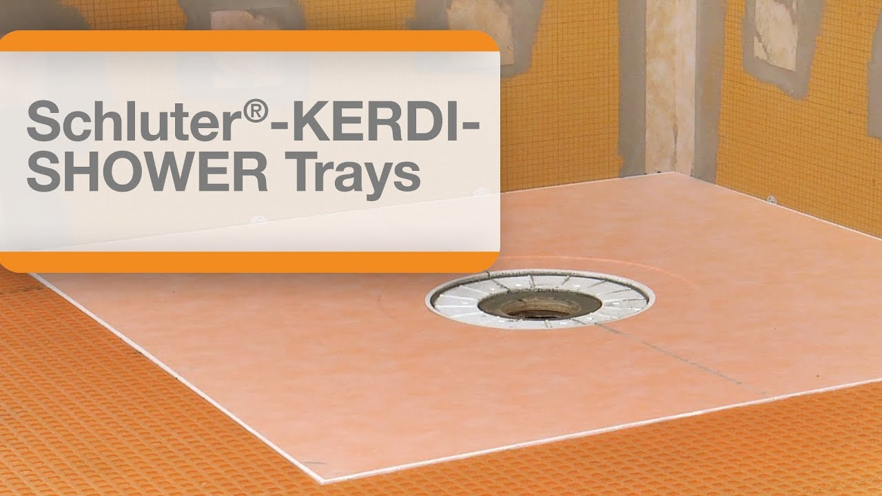Schluter Kerdi Shower Pan Installation.How To Install A Schluter Kerdi Shower Tray Protradecraft