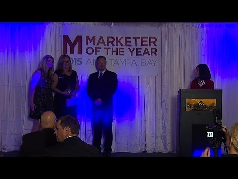 Marketer of the Year 2015 - AMA Tampa Bay