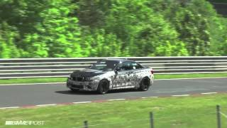 latest bmw m2 f87 prototype testing on nurburgring may 24 2015
