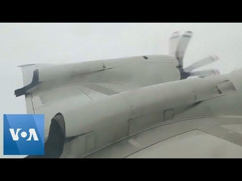 Some Guy Named Tias - Video of Flying inside Hurricane Dorian.