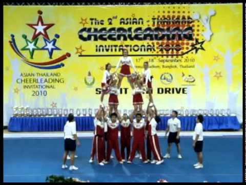 ICC All-Stars (Indonesia) 12 Team Members on Asian-Thailand Cheerleading Invitational (ATCI) 2010