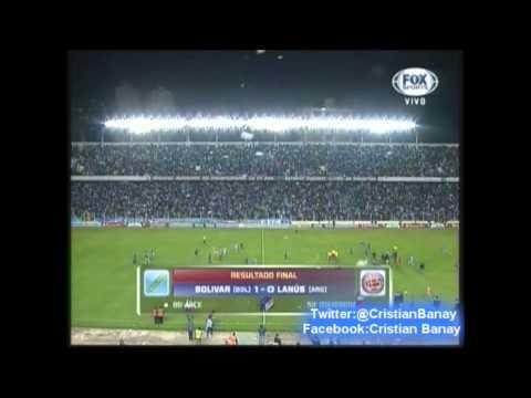 Bolívar semifinalista de Copa Libertadores 2014 (Gonzalo Cobo, Radio Fides de Bolivia)