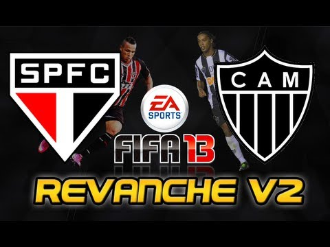 São Paulo x Atlético-MG - Revanche V2 - FIFA 13