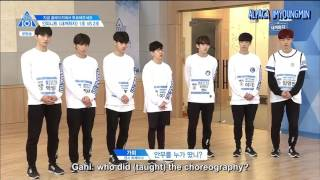 [ENG] Produce 101 Season 2 EP 4 | Be Mine Team 2 (1/2)