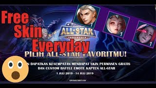 Event Tersembunyi Mobile Legend 2019 | Event All Star Mobile Legend | Free Skin Everyday
