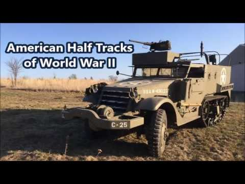American Half Tracks of World War II