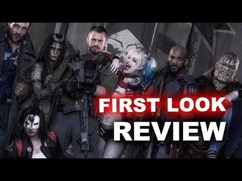 Suicide Squad 2016 FIRST LOOK & Review