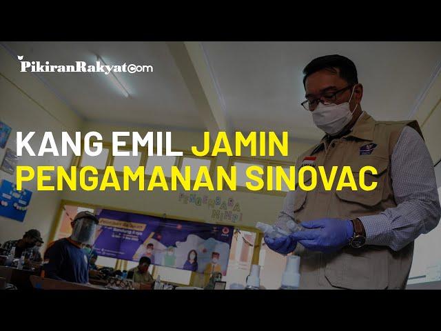 Berada di Gudang Biofarma, Ridwan Kamil Jamin Pengamanan Vaksin Covid-19 Asal China, Sinovac