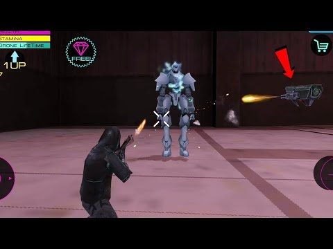 Cyber Future Crime | Kill Night Raider with Drone Defender | Naxeex New Game | Android Gameplay HD
