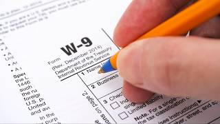 W-9 Request For Taxpayer Identification Number And Certification: Property Management Forms