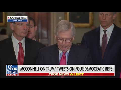 McConnell rejects racism charges against Trump