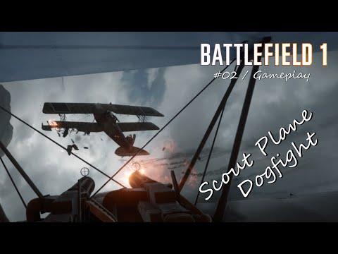 Scout Plane Dogfight   Battlefield 1 (Beta)
